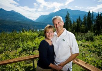 Kevin & Debra on Spa Deck