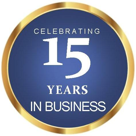 Celebrate Our 15th Anniversary in Business with Special Savings